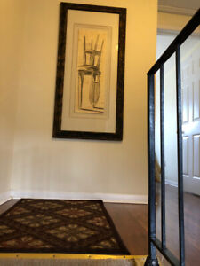Spacious 3/4 BR Furnished & Equipped townhouse March 1/19