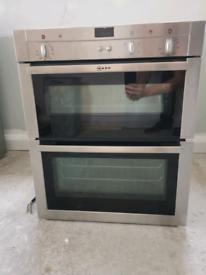 Neff built-under double oven