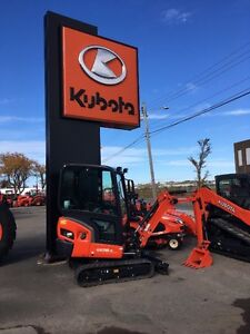 LEFT OVER KUBOTA KX018-4 EXCAVATOR FOR SALE AT A REDUCED PRICE!!