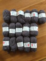 16 balls super wash wool yarn, Stahl Wolle Robusta