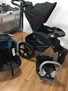 Moving sell , Baby trend stroller, car seat Kitchener / Waterloo Kitchener Area image 4