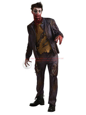 Adult Walking Dead Zombie Halloween Fancy Dress Costume Shaun of the Dead](Shaun Of The Dead Halloween Costume)