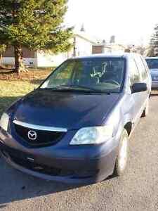2003 Mazda MPV Camionnette
