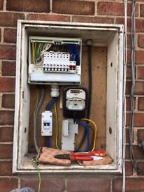 Electric mains board