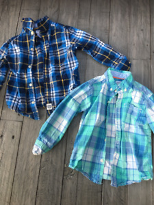 Toddler Boys 2T Button Up Shirts