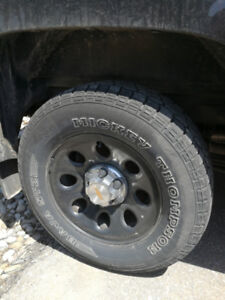 265/70R17 Mickey Thompson tires