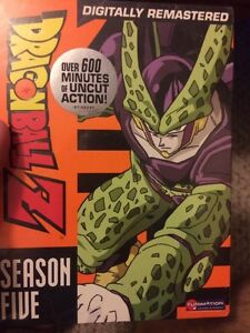 Unopened season 5 Cell Saga DBZ