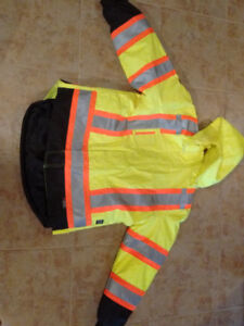 Size L, Safety jacket / winter coat, high visibility