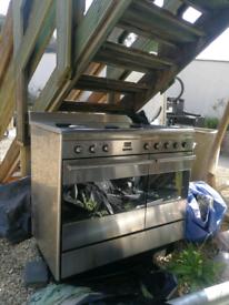 Smeg gas 5 burner hob and oven