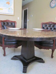 MUST SELL MAKE YOUR BEST OFFER ON GRANITE TABLE