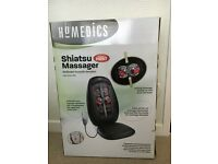 Homemedics Shiatsu Massager with heat function.