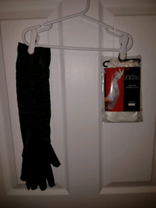 Halloween gloves and stockings  for adults