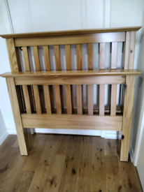 Shaker Style Solid Pine Single Bed Very Chunky Julian Bowen Can Delive