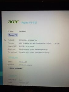 Acer Aspire V3-551 Peterborough Peterborough Area image 3