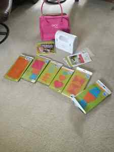 Go Baby machine ,case,6pattern cutters and go baby quilting book