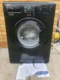 Beko black 7kg washing machine delivered and installed today