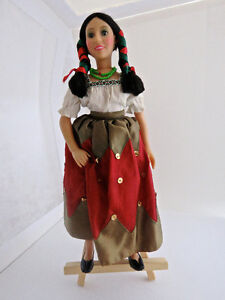Vintage First Nations Doll