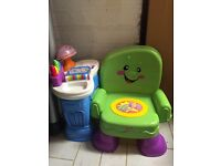 Fisher price sit n learn chair