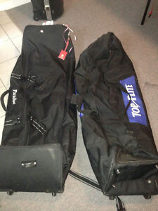 2 golf travel bags