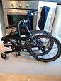 Ortler London Race 2019 Matte Black Folding Bike (8 Speed) Foldable