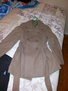 Kashmir coat size medium perfect condition for 10$ only
