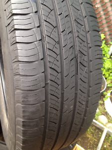Set of 4 Michelin Summer tires 245/60/18
