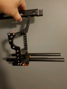 Neewer camera cage. For gh4 and other dlsr rigs