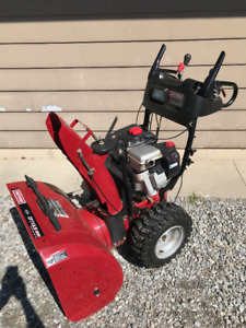 "27"" Snowblower with steering control"