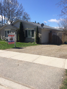 Gorgeous Semi Side Split Located on Emily St in St.Marys