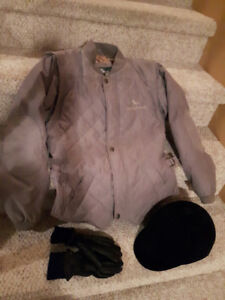 Equestrian Jacket, Cap and Gloves