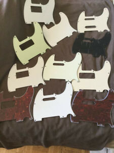 Brand new replacement Telecaster pickguards
