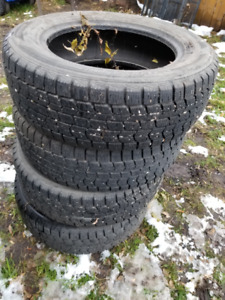 DUNLOP SIZE 16 WINTER TIRES  SET OF 4 IN LEDUC