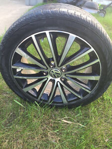 2013 Vw tires and rims(225/45R 17)