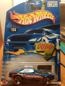 Hot wheels 67 Camaro 2002 release
