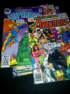 Small comic book collection