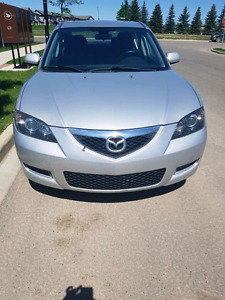 2007 mazda 3 first and only owner