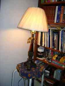 Dining Rm Table Lamp / Shades