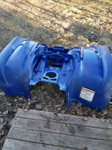 Blue grizzly plastic
