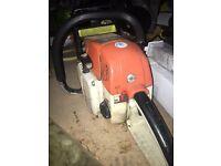 Stihl woodboss 028 chainsaw