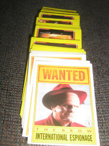 Dick Tracy Movie cards w Madonna FBI True Crime & Punishmnt