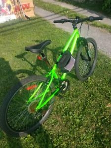Glow bike almost new