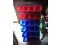 Screw/accessory racking for Van/shed