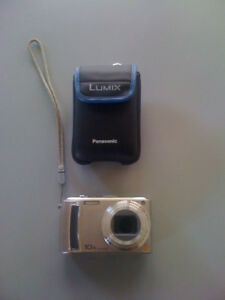 Panasonic DMC-TZ4 10x optical zoom with carrying case, charger