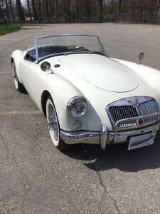 1958 MGA Roadster with Chrome Wire Wheels
