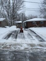 Snow removal for driveway / roof , Huntsville Ontario