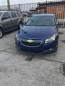 2012 Chevrolet Cruze RS Sport Package