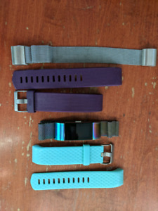 Fitbit charge 2 with extra straps