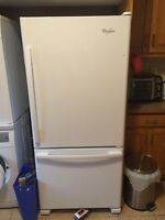 New whirlpool bottom freezer