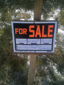 1.2 acre lot for sale