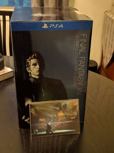 inal Fantasy 15 XV - Ultimate Collector's Edition w/ postcards P
